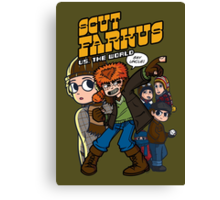 Scut Farkus vs. The World Canvas Print