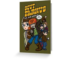 Scut Farkus vs. The World Greeting Card