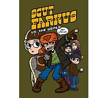 Scut Farkus vs. The World Photographic Print