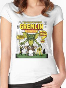 The Mischievous Gremlin Women's Fitted Scoop T-Shirt