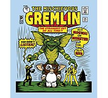 The Mischievous Gremlin Photographic Print