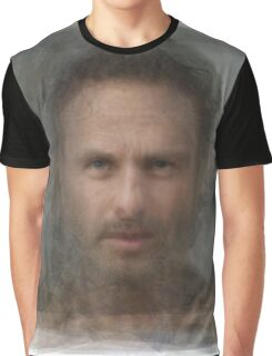 Rick Grimes, the Walking Dead Graphic T-Shirt
