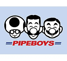 Pipe Boys Photographic Print