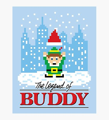 The Legend of Buddy Photographic Print