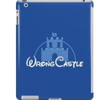 Wrong Castle iPad Case/Skin