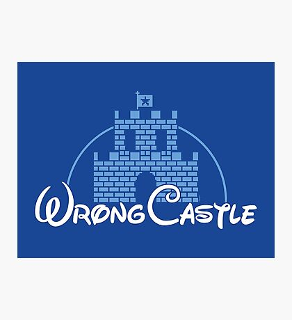 Wrong Castle Photographic Print