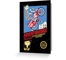 Adventurebike Greeting Card