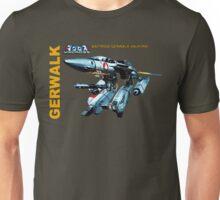 Macross Robotech Gerwalk Battroid Valkyrie VF-1 Unisex T-Shirt