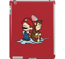 Mario and Kong iPad Case/Skin