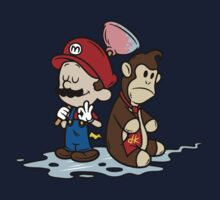 Mario and Kong Kids Clothes