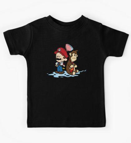 Mario and Kong Kids Tee