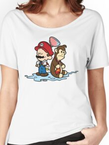 Mario and Kong Women's Relaxed Fit T-Shirt