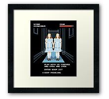All Play and No Work Framed Print
