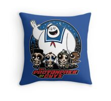 The Protonpack Guys Throw Pillow