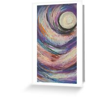 Pastel Moon Greeting Card