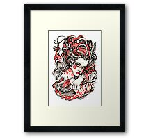 Exhale Framed Print