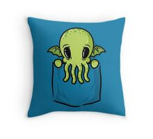 Pocket Cthulhu Throw Pillow