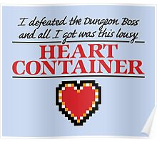 Lousy Heart Container Poster