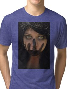 I didn't ask for you to silence me Tri-blend T-Shirt