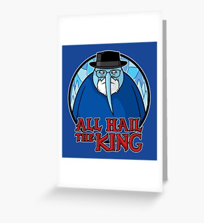 The King of Ice Greeting Card