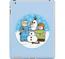 Want to Build a Snowman? iPad Case/Skin