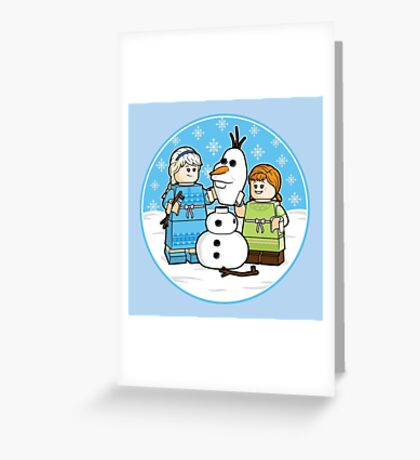 Want to Build a Snowman? Greeting Card