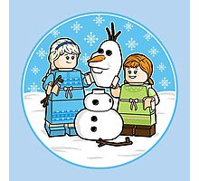 Want to Build a Snowman? Photographic Print