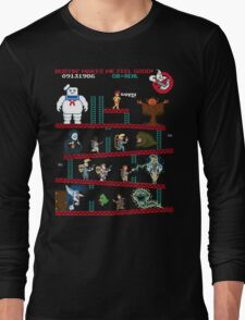 The Real Donkey Puft Long Sleeve T-Shirt