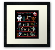The Real Donkey Puft Framed Print
