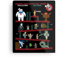 The Real Donkey Puft Metal Print