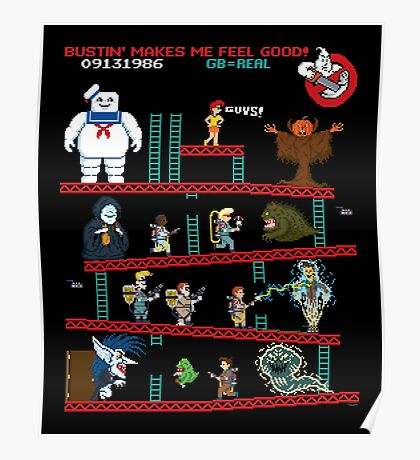 The Real Donkey Puft Poster