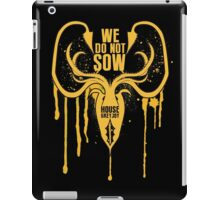 Greyjoy House Game of Thrones Shirt iPad Case/Skin
