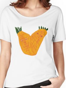 Happy Face Carrots in Pairs by Hope and Keren Women's Relaxed Fit T-Shirt