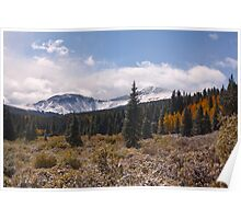Last day of Summer in the Colorado high country Poster