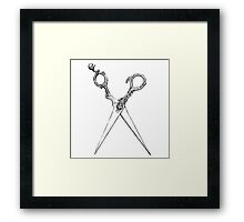 For The Threads Of Fate Framed Print