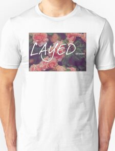 Floral Layed Unisex T-Shirt