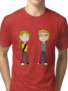 Katie and Yum Soda! Tri-blend T-Shirt