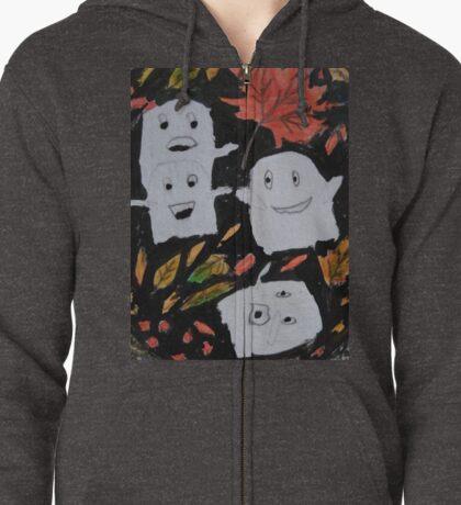 Cutie Spookies Zipped Hoodie