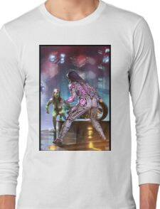 Triptych 01 part 2 of 3 Long Sleeve T-Shirt