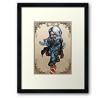 Tiny Fantasy Adventures: Thief Framed Print