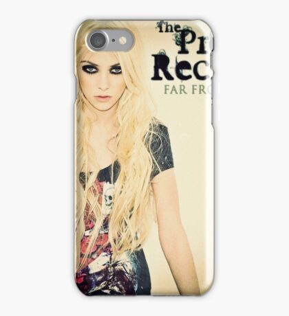 Far From Never The Pretty Reckless iPhone Case/Skin