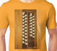 Organ Stops - Exeter Cathedral Unisex T-Shirt