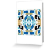 Abstract Expression #6 by Michael Moffa Greeting Card