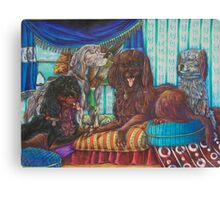 The Setters Canvas Print