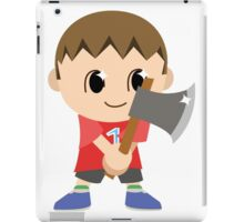 Chibi Animal Crossing Villager Vector iPad Case/Skin