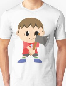 Chibi Animal Crossing Villager Vector T-Shirt