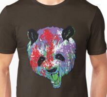 Realistic Paint Panda Unisex T-Shirt