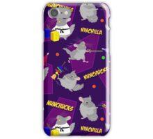 NinChilla Nunchucks in Grape iPhone Case/Skin