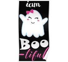 boo little monster halloween Poster