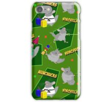 NinChilla Nunchucks in Grannysmith iPhone Case/Skin